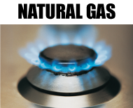 natural gas, gas burner